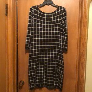 Ralph Lauren sweater dress.